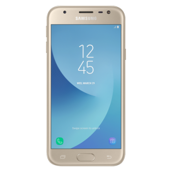 Samsung Galaxy J3 (2017), Dual SIM, 16GB, 4G, Gold