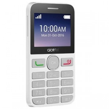 "Alcatel 2008G SS Black&White 2G, 2.4"", SC, 8MB, 16MB, 2MP, 1400mAh"