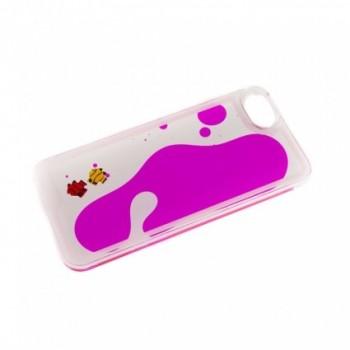 Carcasa spate Iphone 5 Glitter Fish